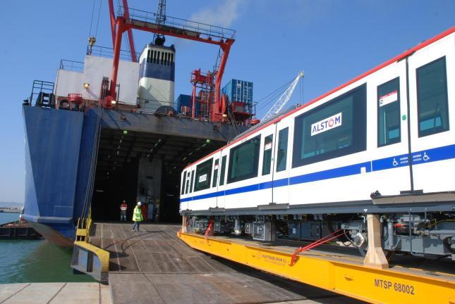 Alstom firma contrato para proveer de trenes Metrópolis a Santo Domingo
