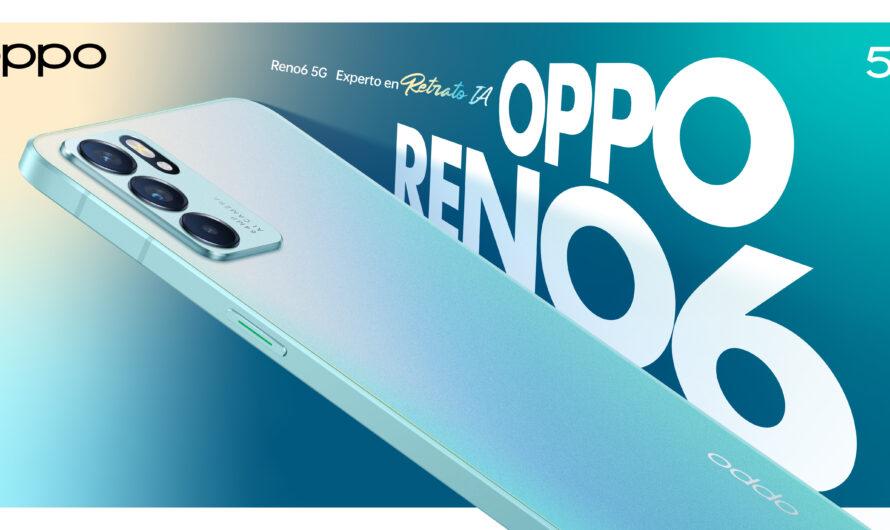 Oppo presenta el Reno 6 5G