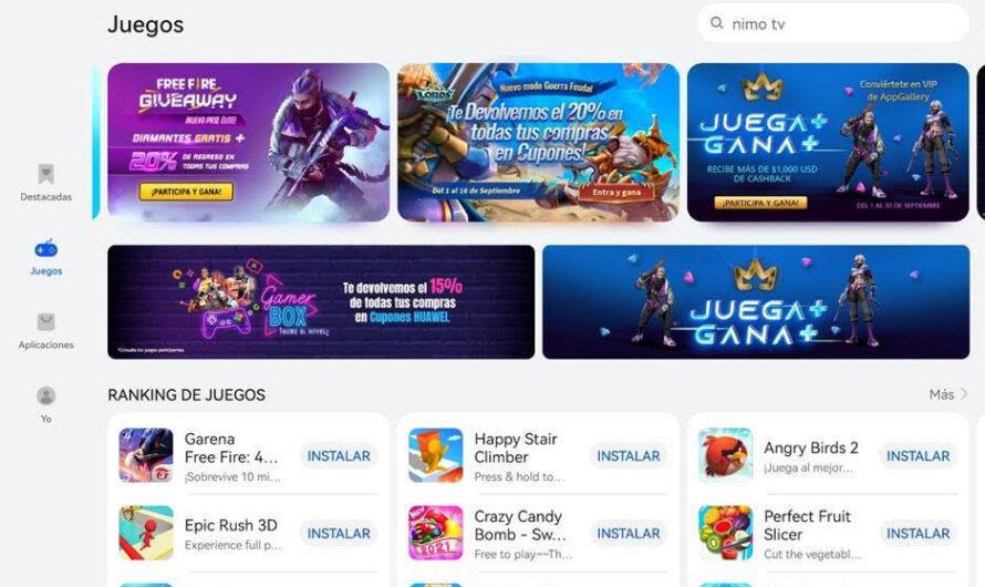 En constante crecimiento la App Gallery de Huawei